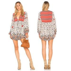Spell & the gypsy large elle rosewood romper boho